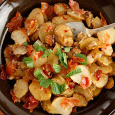 Jerusalem Artichokes with Crispy Prosciutto  Recipe