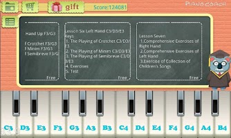 Screenshot of Piano Coach