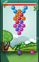 Screenshot of Jungle Bubbles