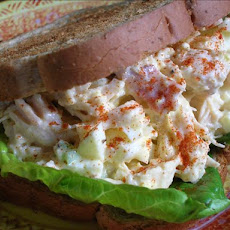 Kicked Up Chicken Salad Sandwiches