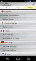 Screenshot of GoalTone: Live Soccer Scores