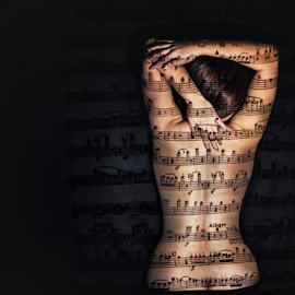 Hidden Melody by Subic Ivo - People Body Art/Tattoos ( naked, woman, art, rabpix, hidden melody )