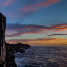 Bombo Quarry by Bradley Rasmussen - Landscapes Sunsets & Sunrises ( water, australia, sea, ocean, nsw, sunrise, bombo )