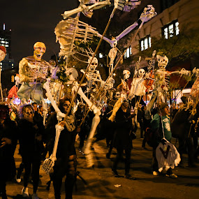 NYC Halloween Parade by VAM Photography - Public Holidays Halloween ( parade, places, nyc, public holiday, halloween,  )