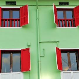 Windows by Koh Chip Whye - Buildings & Architecture Other Exteriors (  )