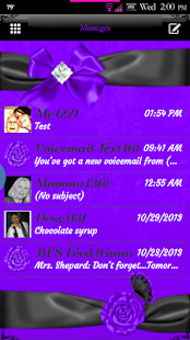 Simply Passion GO SMS Theme - screenshot