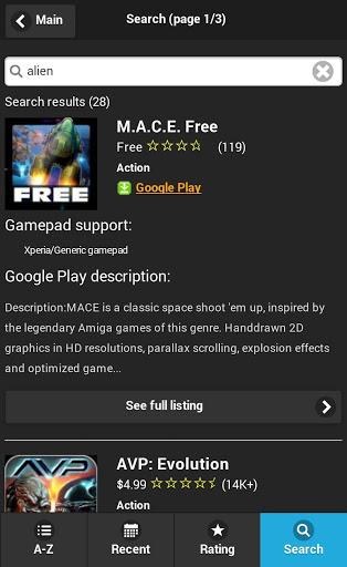 Gamepad Games