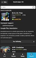 Screenshot of Gamepad Games