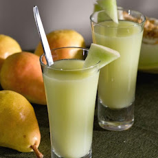 Pear and Melon Cocktail