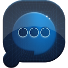 Easy SMS Blue Technology Theme icon