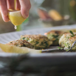 Crab Cakes with Herb Salad