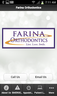 Farina Orthodontics - screenshot