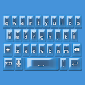 Royal Blue Pearl Keyboard Skin icon