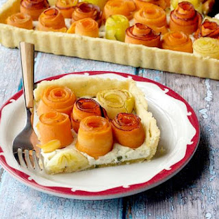 Carrot Rose Tart