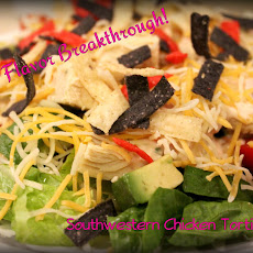 Southwestern Chicken Tortilla Chopped Salad