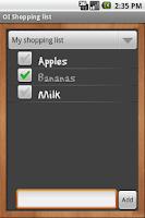 Screenshot of Blackboard Theme