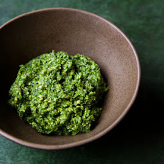 Ramp and Parsley Pesto