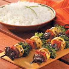 Beef Stir-Fry on a Stick