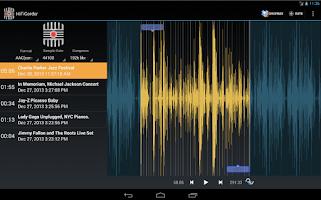 Screenshot of HiFiCorder Record, Edit, Sell