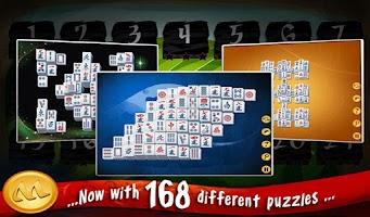 Screenshot of Mahjong Deluxe HD