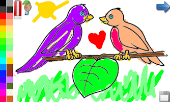 Screenshot of Coloring Book: Birds ! FREE