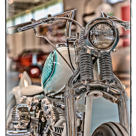 by Allyn Cooper - Transportation Motorcycles ( harley davidson, customised, favourites, cars, street machine )