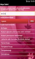 Screenshot of Rüya Tabirleri (internetsiz)