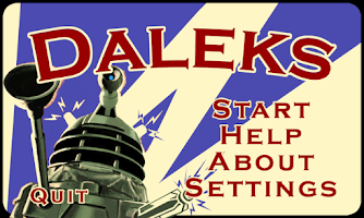 Screenshot of Daleks