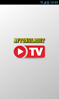 Screenshot of Aftonbladet TV