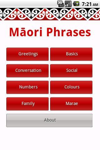 Maori Phrases