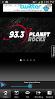 Screenshot of 93.3 The Planet