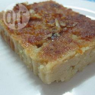 Thai Mung Bean Custard Cake