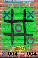 Screenshot of Tic Tac Toe Graffiti