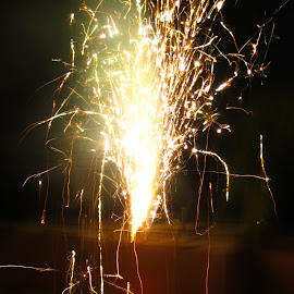 flowerpot by Venkata Krishnan - Abstract Fire & Fireworks ( #diwali #night #chennai #light #fire )