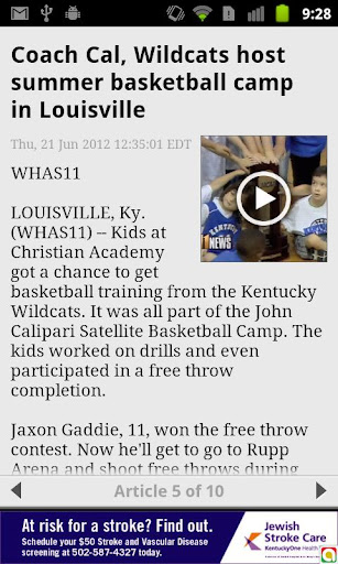 【免費新聞App】Kentucky College Sports - WHAS-APP點子