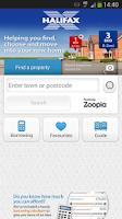 Screenshot of Halifax Home Finder