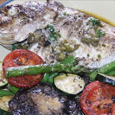 Snapper Fillets With Herb and Caper Butter