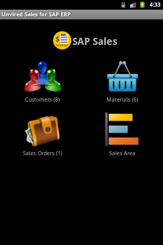Unvired Sales for SAP