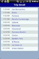 Screenshot of QikRide: Metrolink LA