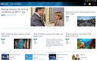 Screenshot of ABC