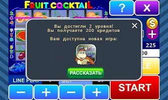 Screenshot of Fruit Cocktail slot machine
