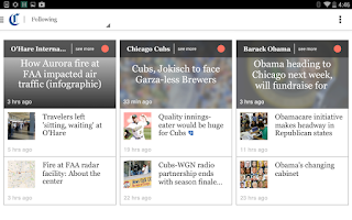 Screenshot of Chicago Tribune