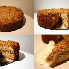 Fantastic Apple Sour Cream Coffee Cake