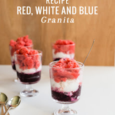 Red, White and Blue Granita