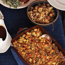 Shiitake-Mushroom Stuffing and Sausage Stuffing