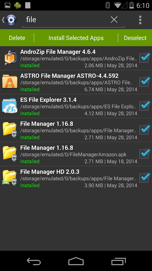 Installer - Install APK Screenshot 4