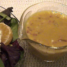 Salad Greens With Honey-Mustard Dressing
