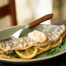 Whole Trout with Tarragon Aioli