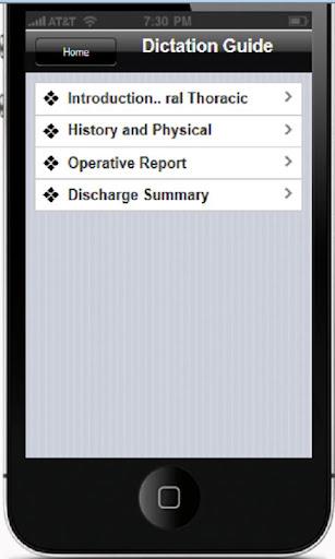 【免費醫療App】STS General Thoracic 1.3-APP點子