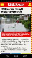 Screenshot of Kvällsposten